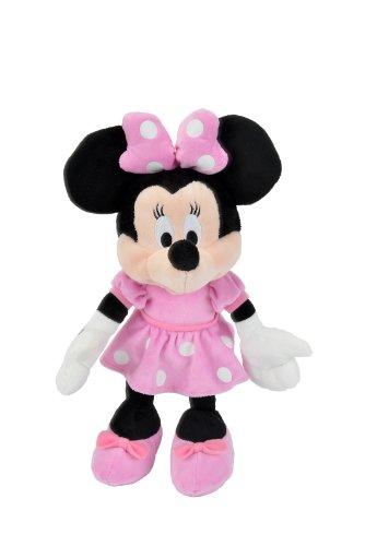 Simba 6315872639 - Disney Plüsch Minnie Maus 35 cm - Maus Puppen Minnie