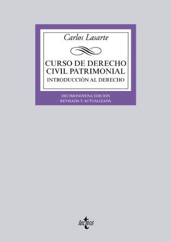 Curso de derecho civil patrimonial (derecho - biblioteca universitaria de editorial tecnos) EPUB Descargar gratis!