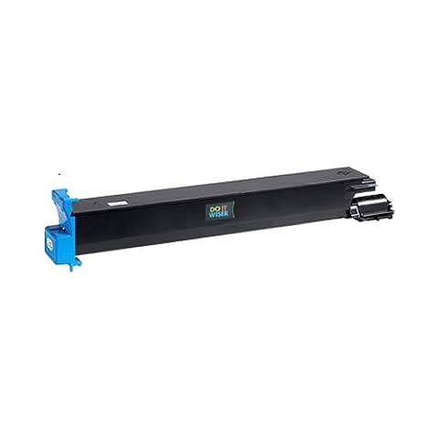 Doitwiser ® Konica Minolta Magicolor 7450 7400 7450II GA Kompatible Toner Cyan - 8938-624