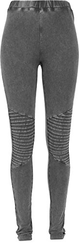 Urban Classics Damen Ladies Denim Jersey Leggings, Grau (Darkgrey 94), 44 (Herstellergröße: XXL)