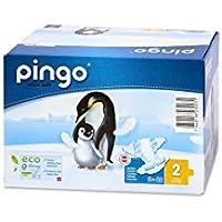 Pingo Pañales Talla 2 Mini (3-6 Kg) - Caja de 2 x 42 Pañales - Total 84 Pañales