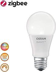 Osram Smart+ Lampadina LED Zigbee, Goccia, E27, 60 W Equivalenti, Luce Colorata RGBW