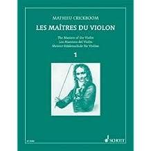 CRICKBOOM - Los Maestros del Violin 1º para Violin y Piano