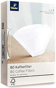 Tchibo coffee filter paper size 4, 80 pcs