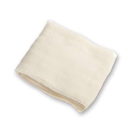 Arkham Passiertuch Käsetuch Nussmilchbeutel Natur aus 100% Baumwolle,Vielseitige Seihtuch für Filter 90x90cm(1 Stück) -