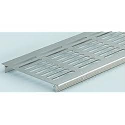 alpertec rejilla de ventilación 130x 750mm aluminio F1alpaca Puente Chapa Canalizado multidan, 1pieza, 33173380