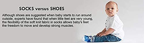 Baby Emporio 6 pares de calcetines para bebé niño - con diseño de zapatos-suelas antideslizantes - algodón- regalo… 1