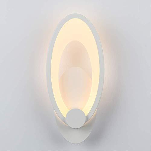 XZDZDJ Wandleuchte Led wandleuchte schlafzimmer neben wandleuchte indoor wohnzimmer esszimmer dekoration beleuchtung treppenhaus korridor leuchten (Keil Aufzug)