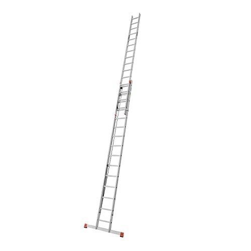 Krause Seilzugleiter Robilo® zweiteilig 2x15 o 2x18 Sprossen EN 131-1, Sprossenzahl:2 x 15 Sprossen