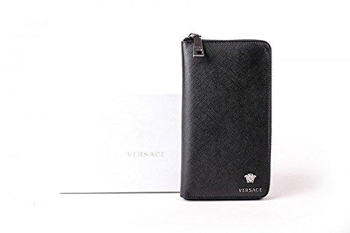 Versace organiseur dP33597DVSAN business Noir