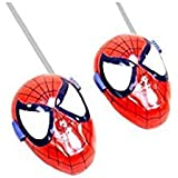 Battery Operated Super Hero Walkie Talkie Set For Kids ( Multicolor)