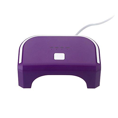Anself 100-240V LED 12W Séchoirs à ongles et lampes durcissement sèche- ongles Nail machine lampe de polymérisation Nail Art