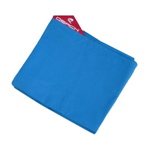 Outdoor Sitzsack XXL Hülle, QSack Bezug, 140x180 cm (blau)