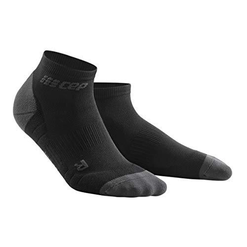 CEP - Low Cut Socks 3.0 für Damen | Kurze Sportsocken für Dein Workout in schwarz/grau | Größe III (Schwarze Low-cut-sport-socken)