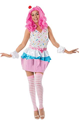 Kostüm Damen Cupcake - ORION COSTUMES Adult Cupcake Fancy Dress Costume