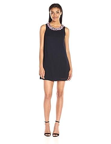 French Connection womens Samba Star Dress sleeveless Dress  - blue -