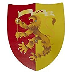 Juguetutto - Escudo León Rojo - Juguete de Madera