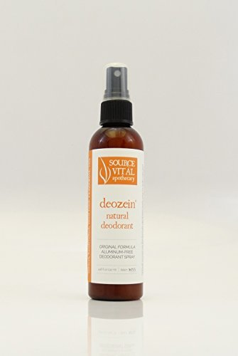 Source Vitál Apothecary Deozein Deodorant By Source Vital, Aluminum Free, All Natural Deodorant Spray For Men...