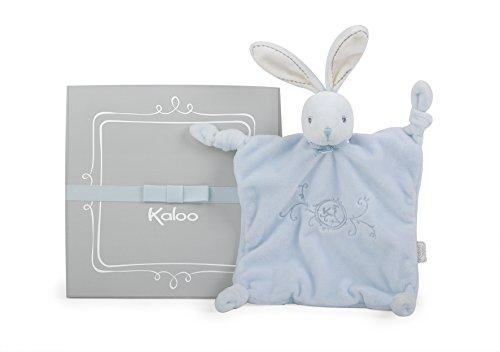 Kaloo- Perle-Doudou Coniglietto, Colore Blu, 20 cm, K962162