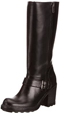 Bronx Womens Boots 13947 Black/Dark Silver 3 UK, 36 EU