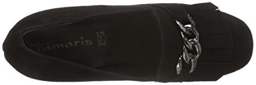Tamaris 24409, Scarpe con Tacco Donna Nero (BLACK 001)