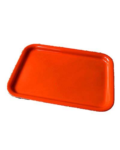 BSTLY Teller Restaurant Kunststoffschale Hotelschale Kuchen Fast Food Brotschale Obstteller Orange 38,9 * 29,2 cm