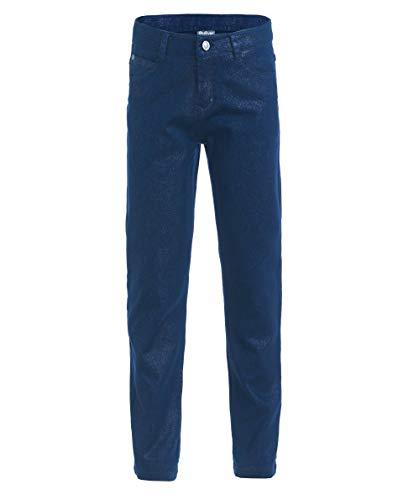 Gulliver Mädchen Hose   Farbe Dunkel Blau   elastisch   Gerade Passform   Slim Fit   Baumwolle   für 8-13 ()
