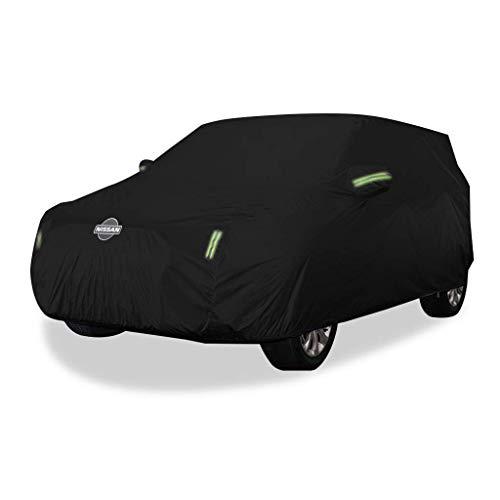 XWYSD Autoabdeckung Nissan Qashqai Autoabdeckung SUV Dickes Oxford-Tuch Sonnenschutz Regendicht Warme Abdeckung Autoabdeckung (Größe : Oxfordstoff - einlagig)