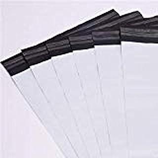 100 Envelope Versand Kunststoff 250 x 350 mm + 40 mm Klappen opaken weißen Umschlag Ripstop