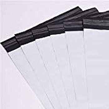 PEHD Enveloppes d/'exp/éditions grises en plastique poly/éthyl/ène fran/çais non garanti Tr/ès r/ésistantes avec texte rouge /«/fragile//» 4.33 - Avec patte autocollante A000-110x165mm