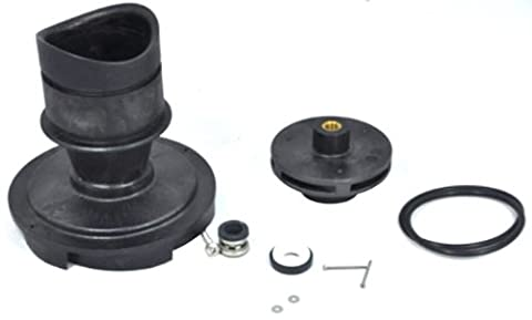 Zodiac R0449502 1.0-HP 5 Vane Impeller with Screw and O-Ring Replacement Kit for Select Zodiac Jandy Pool and Spa Pump