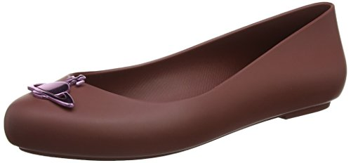 Vivienne Westwood & Melissa Damen VW Space Love 19 Pumps, Purple (Plum Orb), 35/36 EU