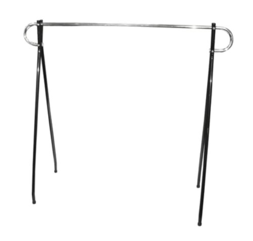 Günstigen Leichten Gebrauch Black Beauty Single Rail Garment Rack, 48