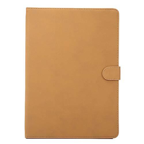 LMFULM® Hülle für Apple iPad Air 3 2019 / iPad Pro 2017 (10,5 Zoll) PU Lederhülle Smart Case mit Auto Schlaf/Wach Cover Ständer Schutzhülle Flip Cover für iPad Air 3 / iPad Pro Scrub Gelb -