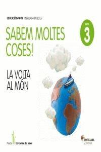SABEM MOLTES COSES NIVELL 3 LA VOLTA AL MON - 9788498077711
