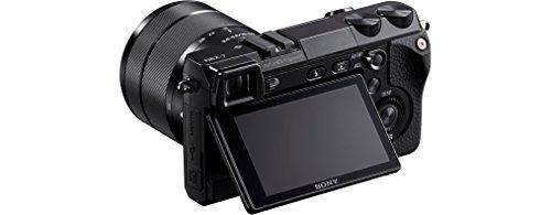 Sony NEX-7KB Systemkamera (24 Megapixel, 7,5 cm (3 Zoll) Display, Full HD Video) Kit inkl. 18-55 mm Objektiv - 5