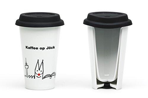 Toller Thermobecher ~ Kölle op Jöck ~ Cup Kaffee to go Becher Kaffeebecher