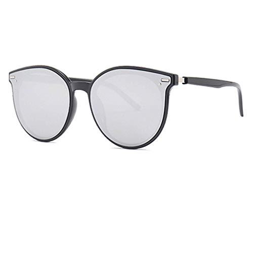 WERERT Sportbrille Sonnenbrillen Oversized Round Sunglasses Women Sun Glasses Female Retro Leopard Sunglasses Lunettes