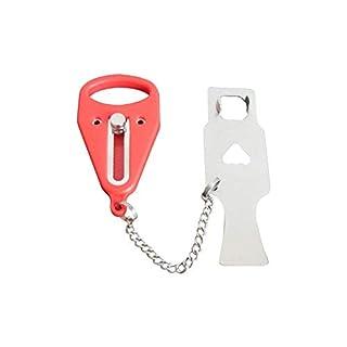 Dadahuam Portable Door Lock, Travel Lock, School Lockdown Lock, Door Stopper, Security Door Lock For Home Security Apartment Living Hotel Motel, Personal Protection