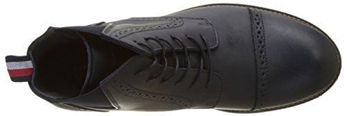Tommy Hilfiger Herren B2285arrett 2a Chelsea Boots Blau (Midnight)