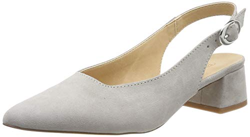 ESPRIT Damen Zina Sling Slingback Pumps, Grau (Light Grey 040), 37 EU Sling Pumps Schuhe