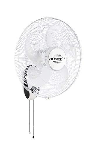 Orbegozo WF 0145 - Ventilador de pared con 5 aspas, 45 cm de diámetro, 3 velocidades de ventilación...
