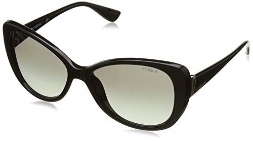 Vogue Gradient Butterfly Sunglasses (0VO2819SW44/11Medium) (Black) image