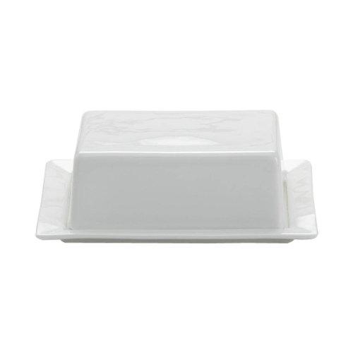 Maxwell & Williams AA6744 Kitchen Butterdose, Butterschale, Butterbehälter, 16 x 13 cm, Porzellan