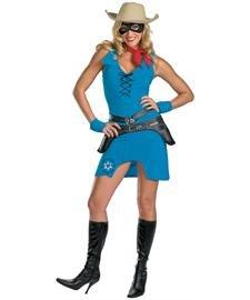 Kost-me f-r alle Gelegenheiten Dg16116E Sassy Lone Ranger Erwachsene - Lone Ranger Kostüm