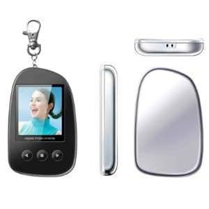 """QualityBits ™ Digital Frame - Digital Keychain Photo Frame - digital photo keychain - 1.5"""" Photo keyring - Key chain / Key ring with digital Photo Frame (SAME OR NEXT DAY DISPATCH)"""