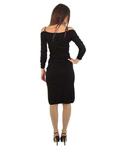 liu jo Damen Schlauchkleid Kleid Schwarz