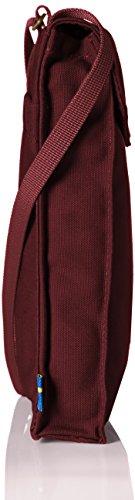 Fjällräven Unisex Pocket Schultertasche, 18 x 14 x 3 cm Dark Garnet