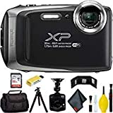 FUJIFILM FinePix XP130 Digital Camera (Silver) Master Bundle