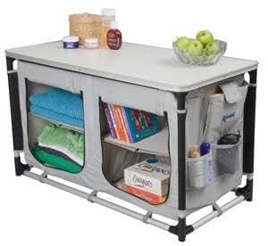 kampa armoire hollie meuble rangement camping amazon. Black Bedroom Furniture Sets. Home Design Ideas